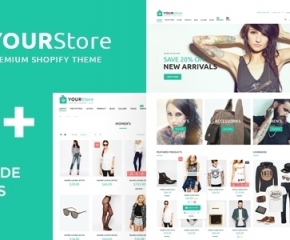 YourStore – Perfect E-Shop Realization